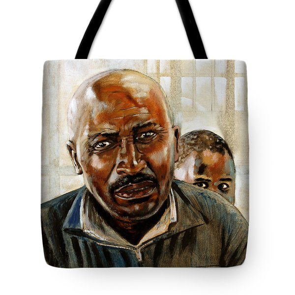 Visitor Tote Bag by John Lautermilch