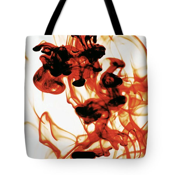 Volcanic Eruption Tote Bag by Sumit Mehndiratta