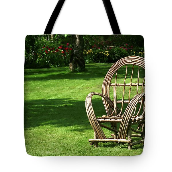 Waiting Tote Bag by Andrew Fare