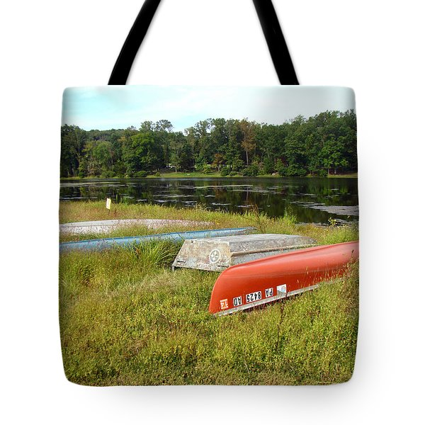 Waiting For One Last Summer Voyage Tote Bag by Mother Nature