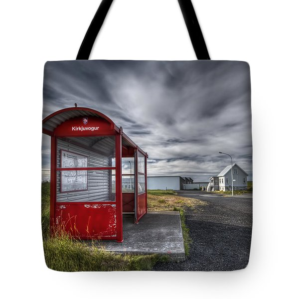 Waiting For The Day Tote Bag by Evelina Kremsdorf