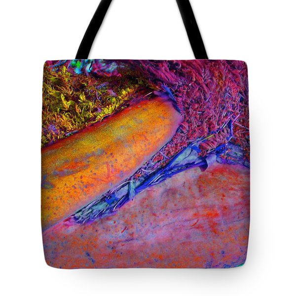 Tote Bag featuring the digital art Waking Up by Richard Laeton