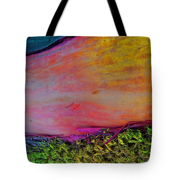 Tote Bag featuring the digital art Walk Into The Future by Richard Laeton