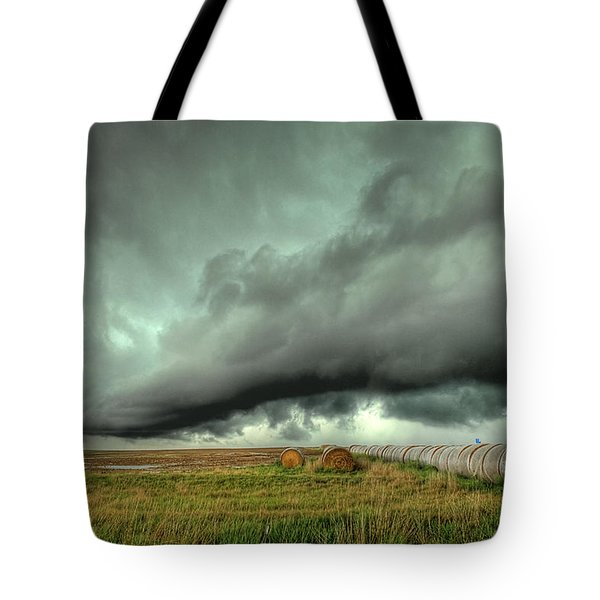Wall Cloud Tote Bag by Thomas Zimmerman