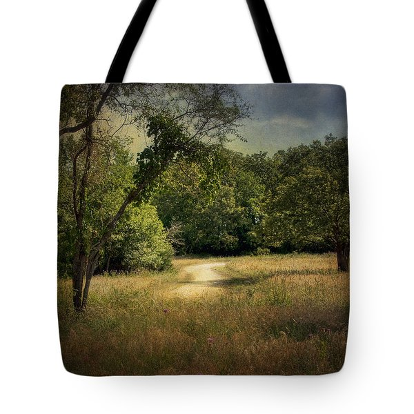 Wandering Path I Tote Bag by Tamyra Ayles