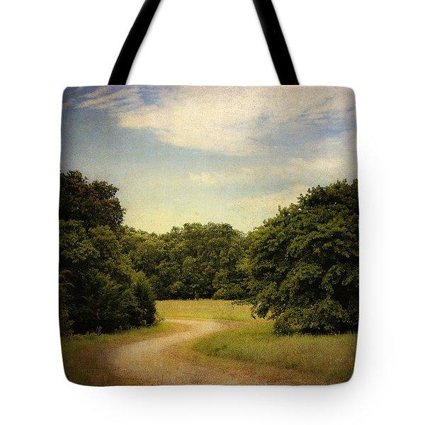 Wandering Path II Tote Bag by Tamyra Ayles