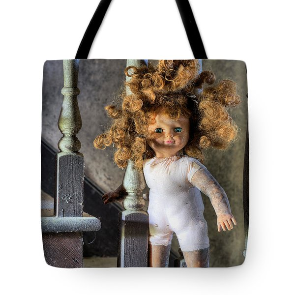 Wanna Go Upstairs And Play Tote Bag by JC Findley