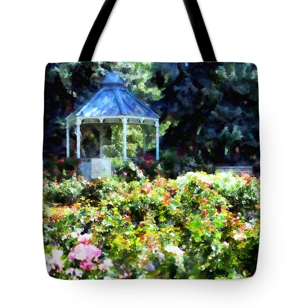War Memorial Rose Garden 1  Tote Bag by Angelina Vick