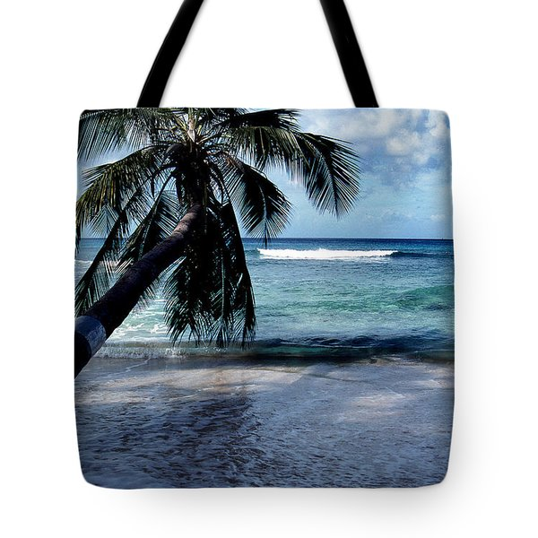 WARM WATER SHADE Tote Bag by Skip Willits