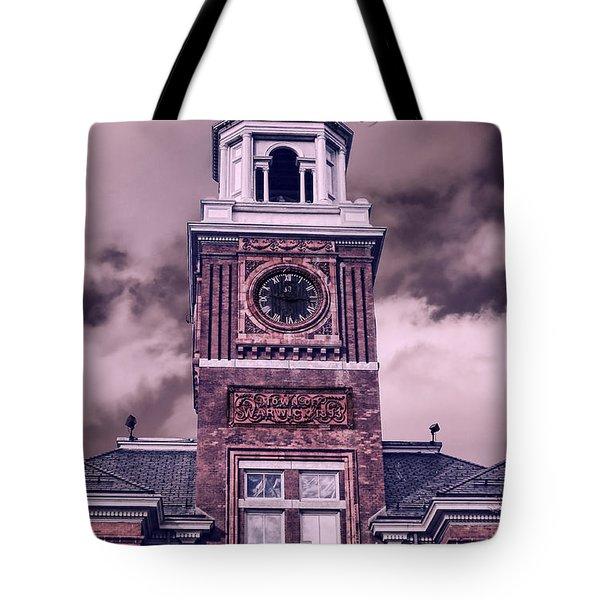 Warwick City Hall Tote Bag by Lourry Legarde