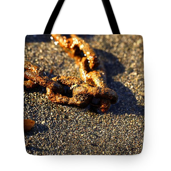 Washed Ashore Tote Bag by Cheryl Young