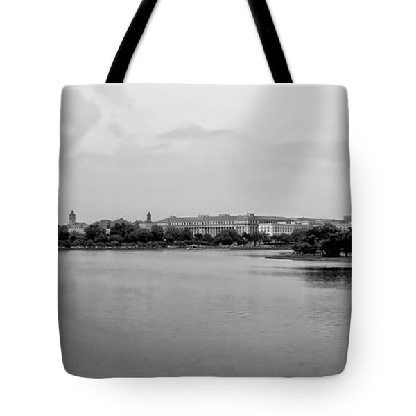 Washington Landmarks Tote Bag by Heather Applegate