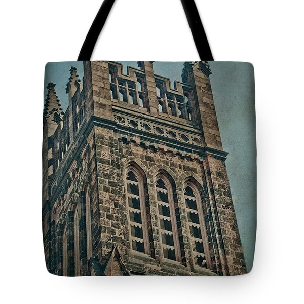 Washington Street Tote Bag by Trish Tritz