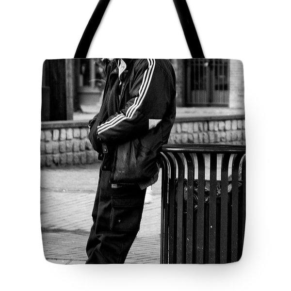 Wasting Away Tote Bag by David Patterson
