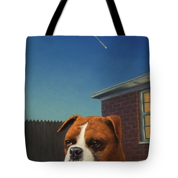 Watchdog Tote Bag by James W Johnson