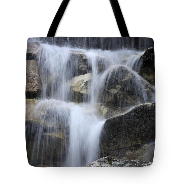 Water And Rocks Tote Bag by Frank Tschakert