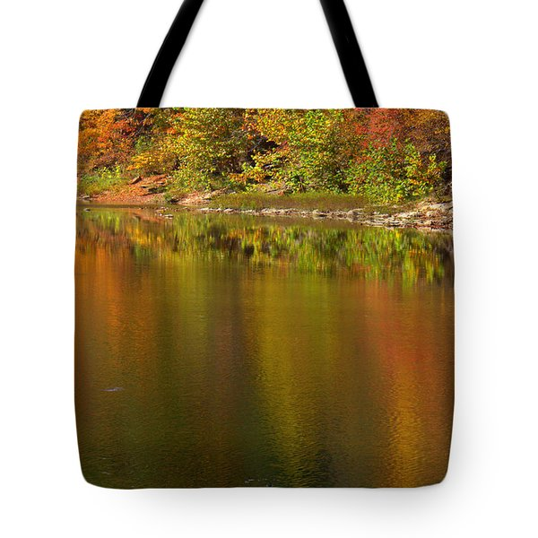 Water Dancers Tote Bag by Ed Smith