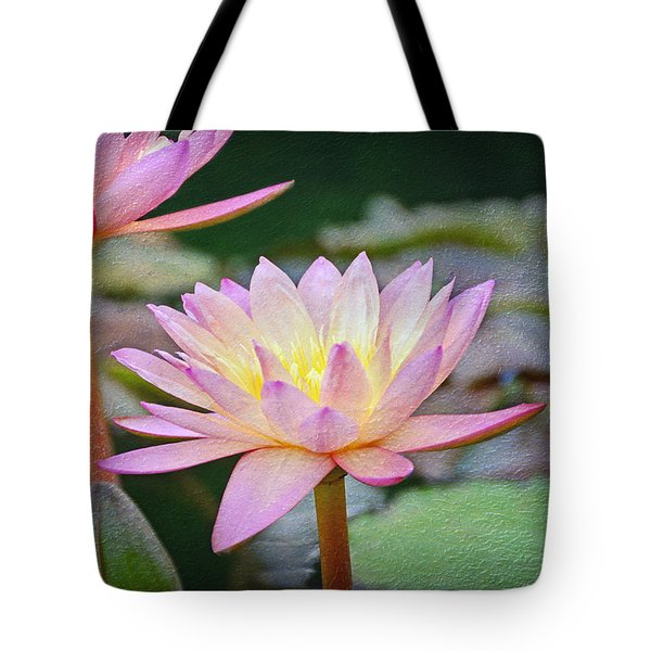 Water Lilies Tote Bag by Steven  Michael