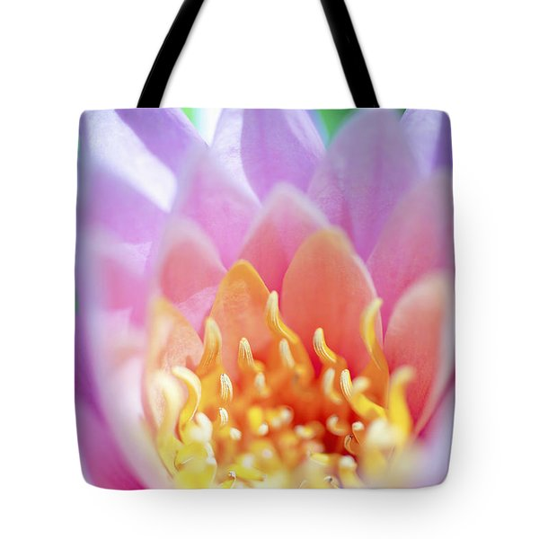 Water Lily Center Tote Bag by Kicka Witte