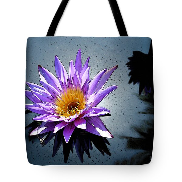 Water Lily Dream At Fairchild 2 Tote Bag by Olivia Novak