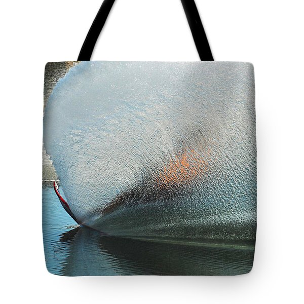 Water Skiing Magic of Water 18 Tote Bag by Bob Christopher
