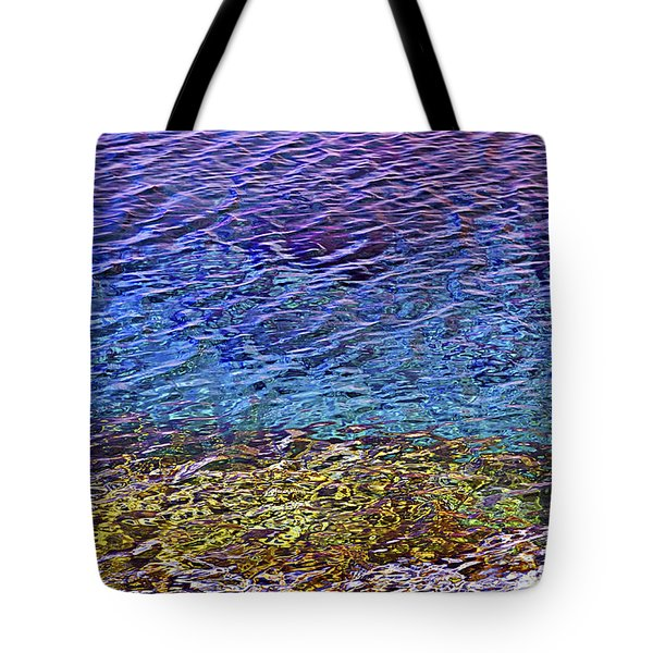 Water Surface  Tote Bag by Elena Elisseeva