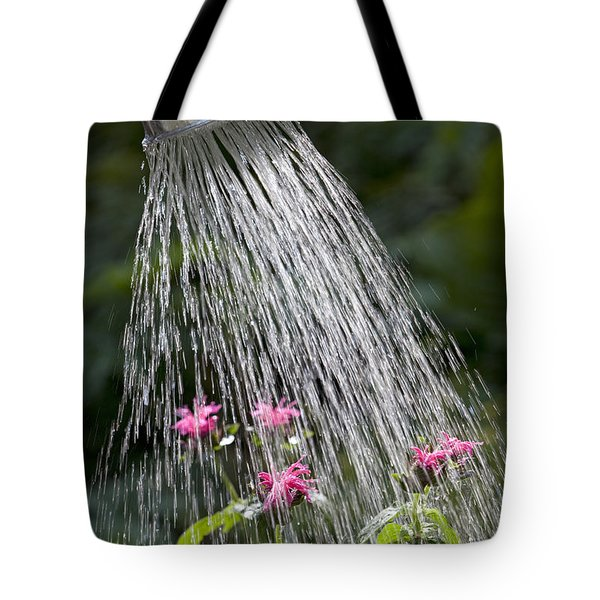 Watering Can Tote Bag by Picture Partners and Photo Researchers