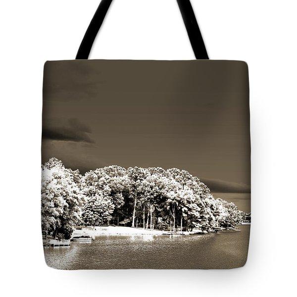 Water's Edge Tote Bag by Barry Jones