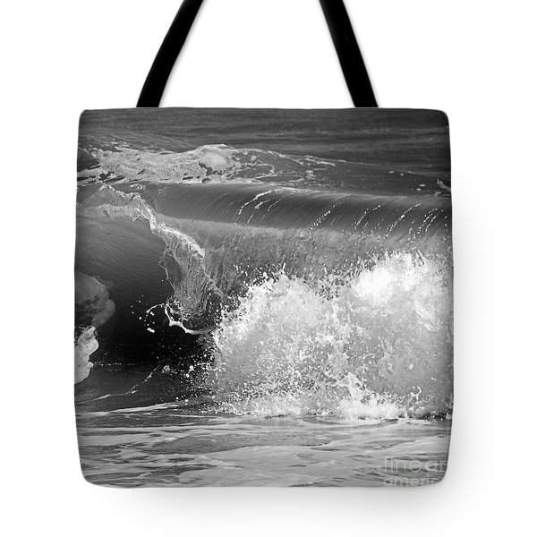 Wave Tote Bag by Charles Harden