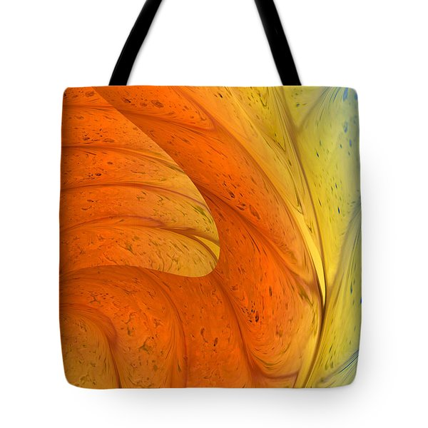 Waves Of Sanity Tote Bag by Deborah Benoit