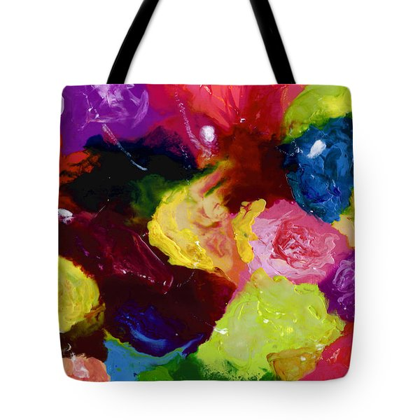Wax Rainbow On Canvax Two K O One Tote Bag by Carl Deaville