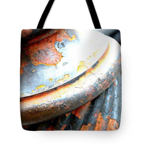 Weathered Column  Tote Bag by Carol Groenen