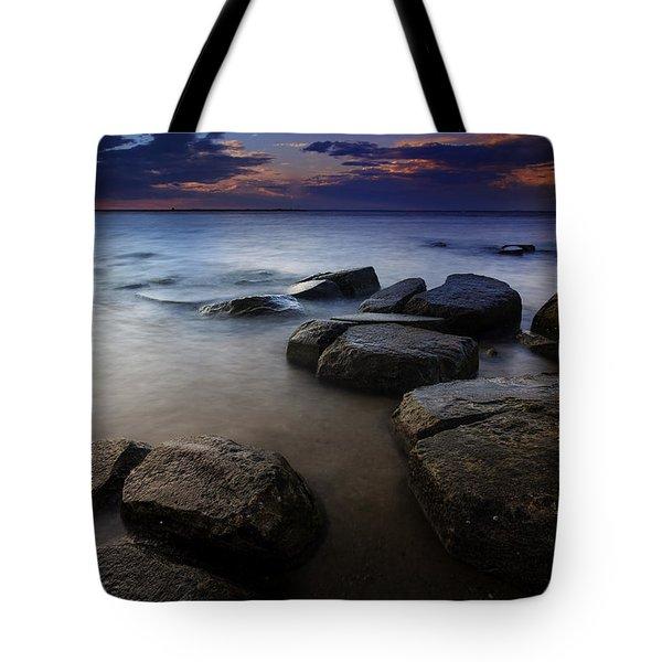 Weathered Tote Bag by Rick Berk