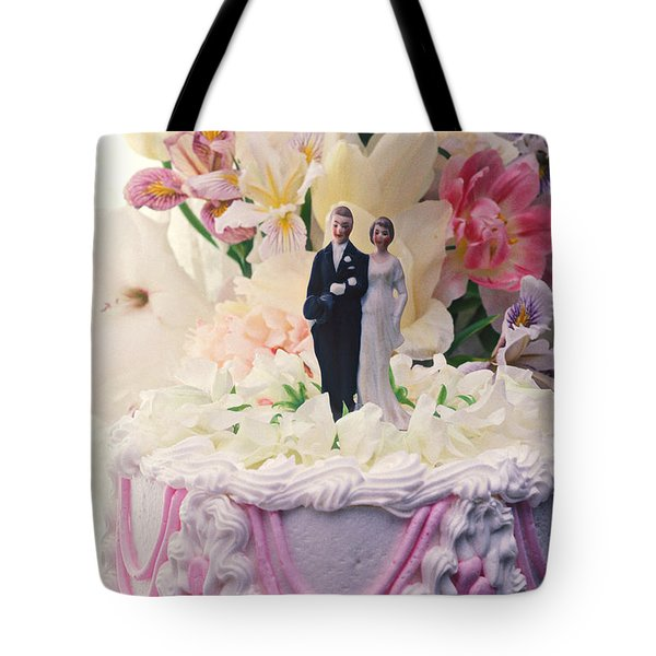 Wedding cake Tote Bag by Garry Gay