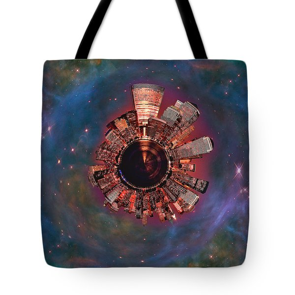 Wee Manhattan Planet Tote Bag by Nikki Marie Smith