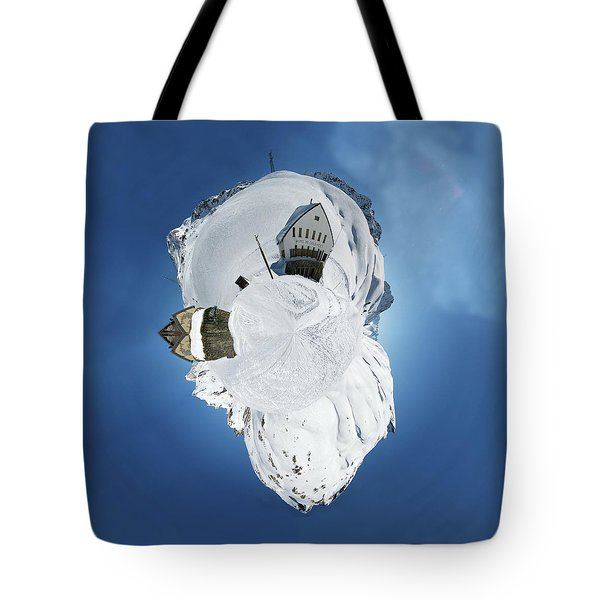 Wee Winter Hotel Tote Bag by Nikki Marie Smith