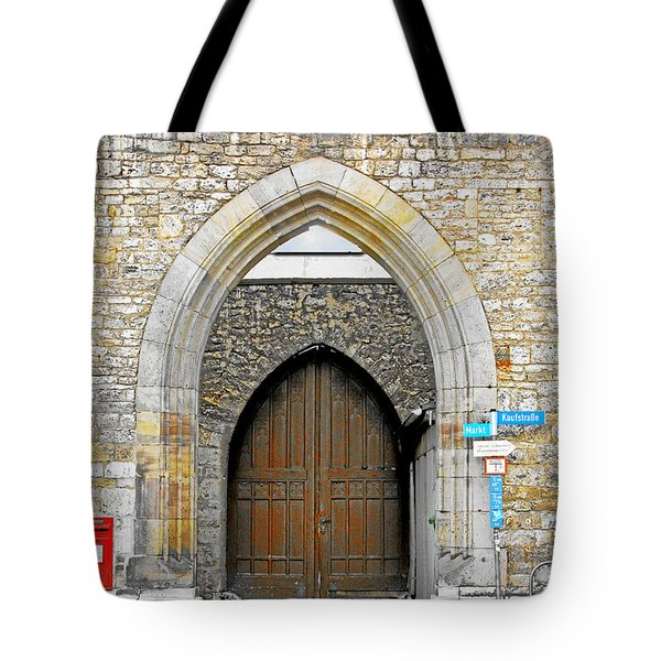 Weimar - Unesco World Heritage Site Tote Bag by Christine Till