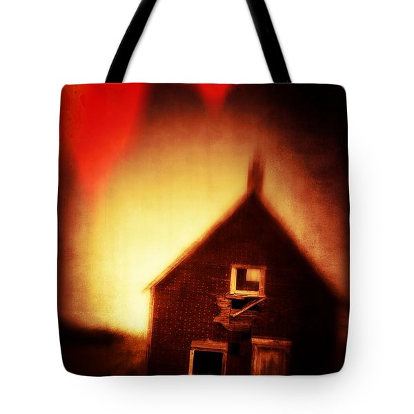 Welcome To Hell House Tote Bag by Edward Fielding