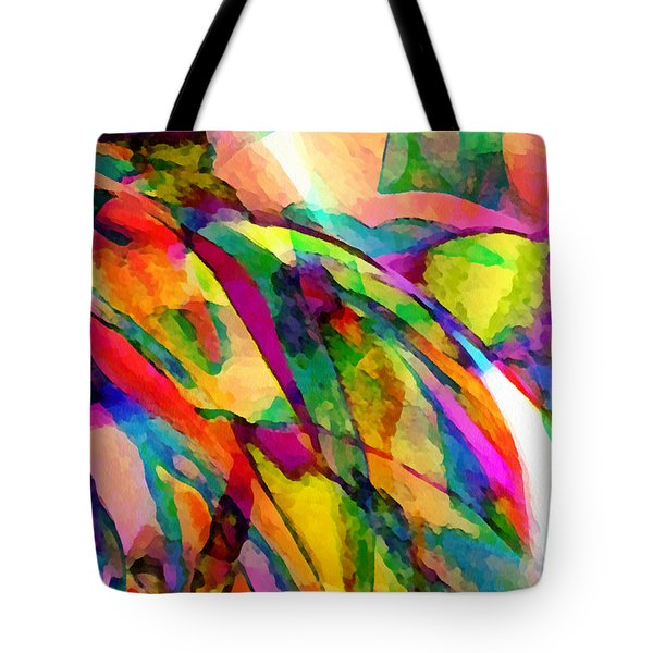 Welcome To My World Dissection 1 Tote Bag by Angelina Vick
