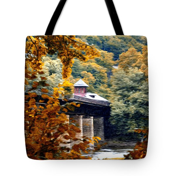West Virginia Morn Tote Bag by Bill Cannon