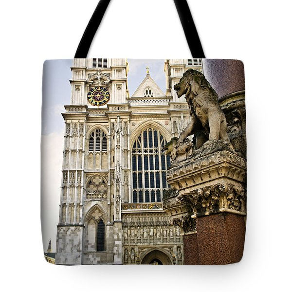 Westminster Abbey Tote Bag by Elena Elisseeva