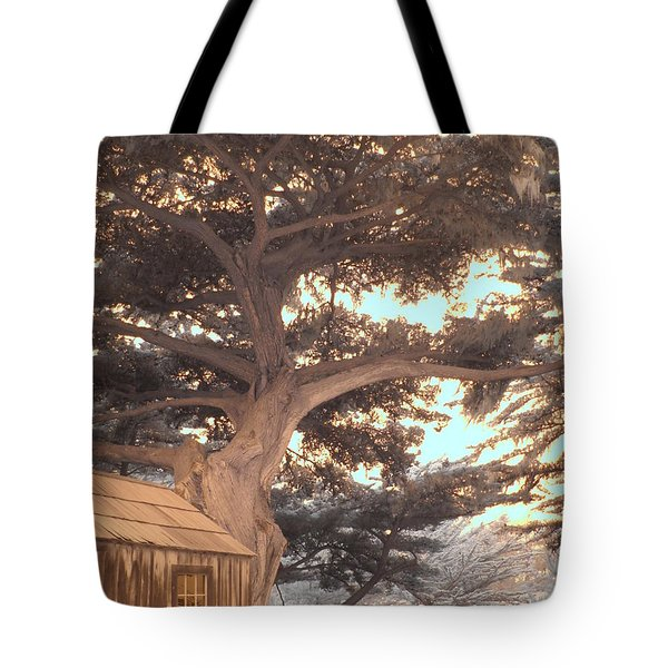 Whaler's Cabin Tote Bag by Jane Linders