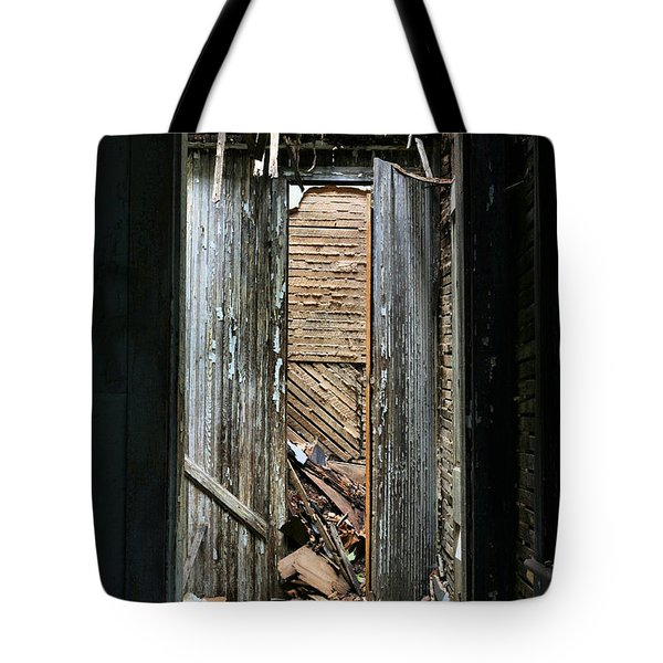 When One Door Closes Tote Bag by JC Findley