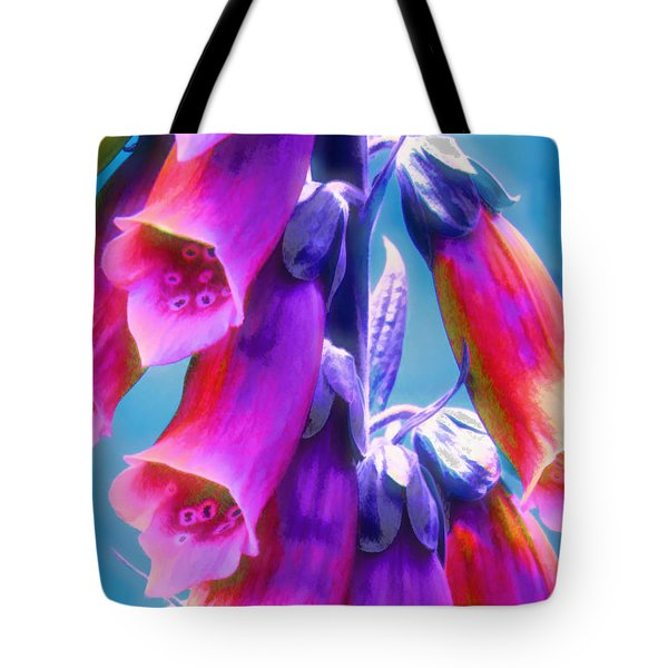 Where Faeries Live - Illustration Tote Bag by Rory Sagner