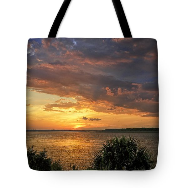 Where  The River Turns Tote Bag by Phill Doherty