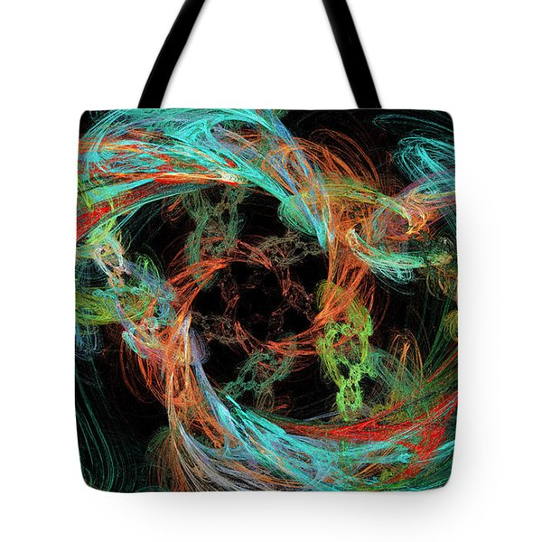 Whirly Gig Tote Bag by Andee Design