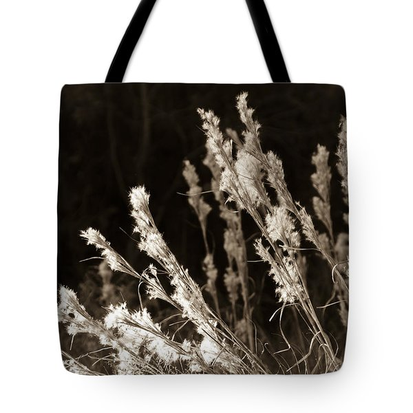 Whisper Gently Tote Bag by Carolyn Marshall