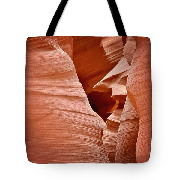 Whispers Of Inspiration - Arizona's Antelope Canyon Tote Bag by Christine Till