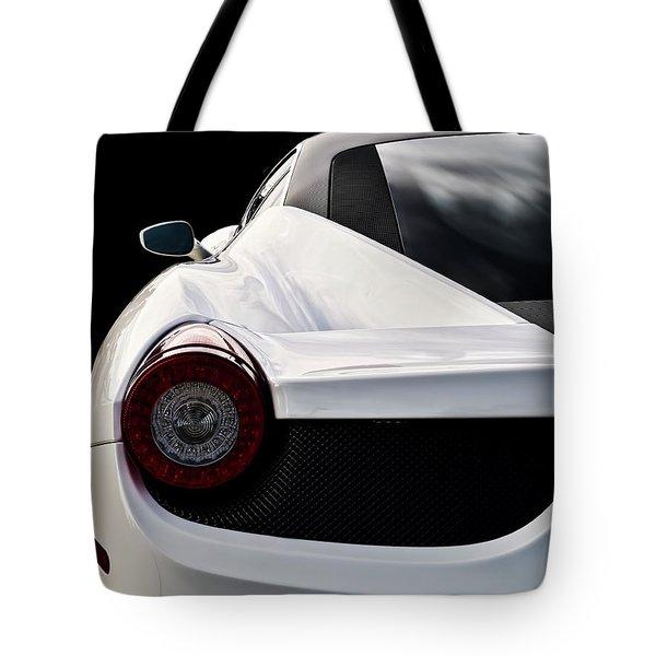 White Italia Tote Bag by Douglas Pittman
