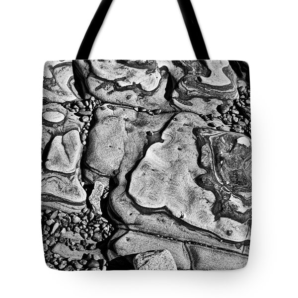 White stone Tote Bag by Garry Gay